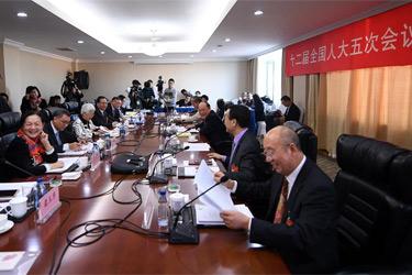 澳門代表團全體會議向媒體開放