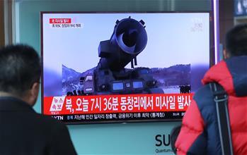 韓國軍方稱朝鮮試射4枚導彈