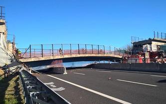 意大利中東部一橋梁坍塌致2死3傷