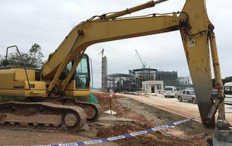 在建廣州第七熱力發電廠發生坍塌事故 已致9死2傷