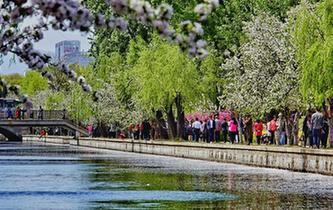 北京:水清樹綠城市美