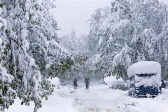 摩爾多瓦降春雪