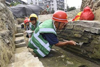 成都市中心發現堙藏千年的著名古寺