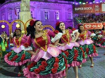 葡萄牙首都上演城市節狂歡