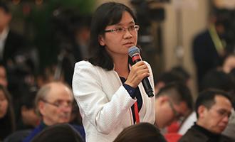 新華社記者提問