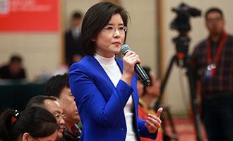 中央電視臺、中國國際電視臺記者提問