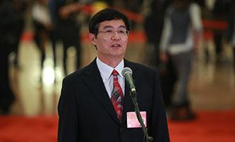 吳曉光代表接受採訪