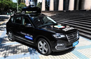 深圳核發自動駕駛道路測試牌照