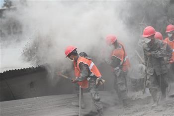 危地馬拉火山噴發已致70人死亡