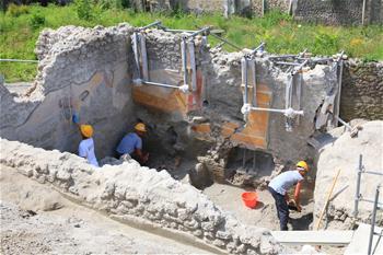 意大利龐貝古城新挖掘區探秘