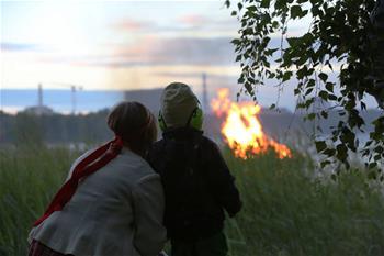 芬蘭歡慶仲夏節