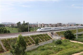 江湛鐵路全線開通運營