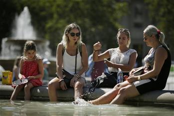 歐洲多地遭遇高溫天氣