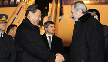 Chinese vice president arrives in Turkish capital for official visit