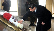 Xi lays wreath at mausoleum of Mustafa Kemal Ataturk