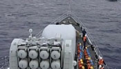 Chinese, Russian warships' joint sea exercise: resupply exercise