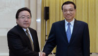 Chinese vice premier meets with Mongolian president