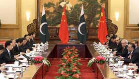 President Hu meets leaders of Pakistan, Mongolia