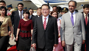 Senior Chinese leader arrives in Pakistan for official visit