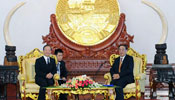 Chinese premier meets with Lao president