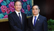 Chinese Premier Wen meets with Lao PM