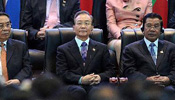 Premier Wen attends opening ceremony of 9th ASEM Summit