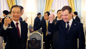 Chinese premier makes seven-point proposal on cooperation with Russia