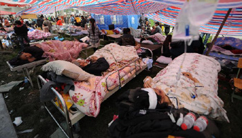 Lushan earthquake leaves 26 dead, 2,500 injured in neighboring Baoxing County