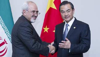 Chinese FM meets Iranian counterpart in Kyrgyzstan