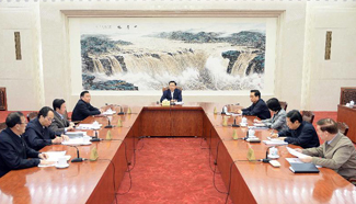 Top legislature learns spirit of CPC's key meeting