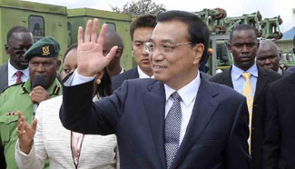 Chinese premier visits Kenya's National Youth Service