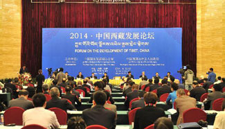 China Focus: China opens Tibet forum with focus on development
