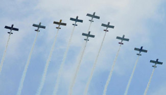 56th Annual Chicago Air and Water Show held in United States
