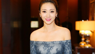 Liu Yan shows up at commercial event in Beijing