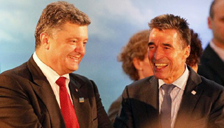 "NATO to help Ukraine build ""strong"" modern army: NATO chief"