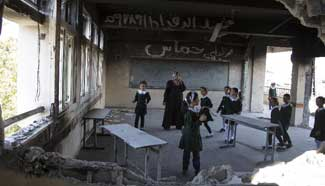 School year starts after 3 weeks' delay due to Israeli offensive in Gaza
