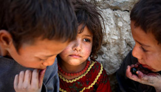 In pictures: Afghan children in Kabul