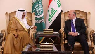 Iraqi PM meets with Kuwaiti officials in Baghdad