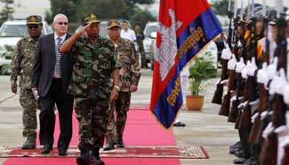 Cambodian peacekeepers leave for war-torn Central African Republic