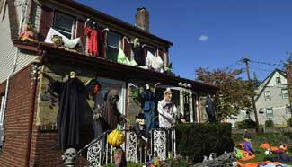 Americans prepare for upcoming Halloween
