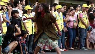Annual Halloween Parade held in Marikina City, the Philippines