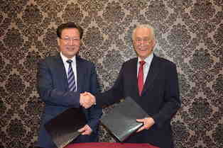 Malaysian Hai-O Group, Xinhuanet Malaysia Channel sign cooperative agreement