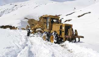 Toll soars to 250 in Afghan avalanche: official