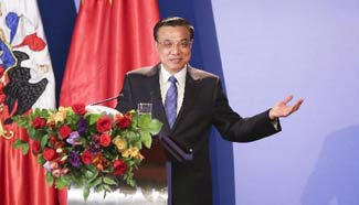 Chinese premier urges stronger trade ties with Chile