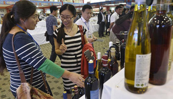Int'l Wine Expo of Helan Mountain's East Foothill opens in Yinchuan