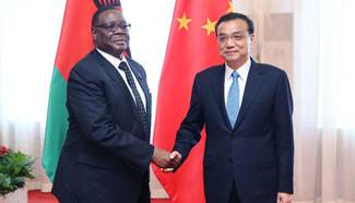 Chinese premier meets Malawian president