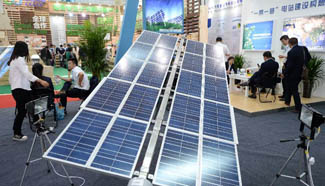 New energy exhibition held during China-Arab States Expo 2015