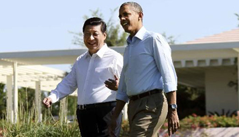 Photos: Four major meetings between Xi and Obama since 2013