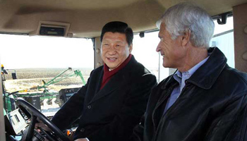 President Xi's six visits to US