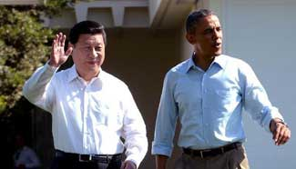 Major meetings between Xi, Obama over past two years